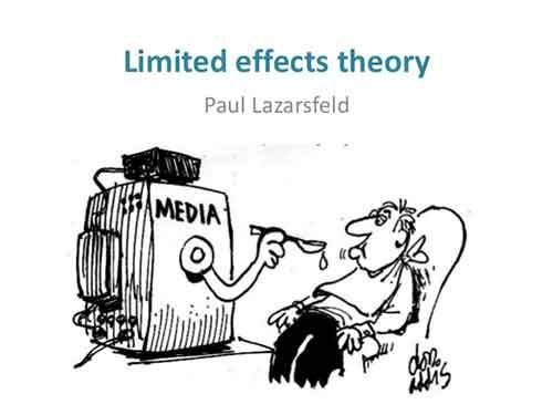paul lazarsfeld limited eff
