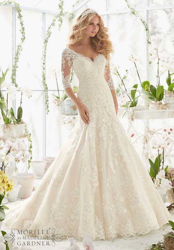 Mori Lee 2812 Wedding Dress