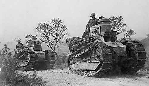 1918 French tank