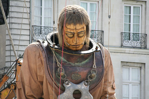 A Giant Awakes in Nantes