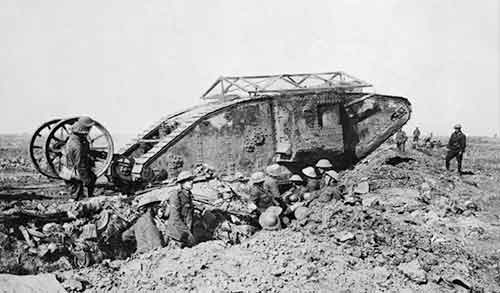 Battle of the Somme tank
