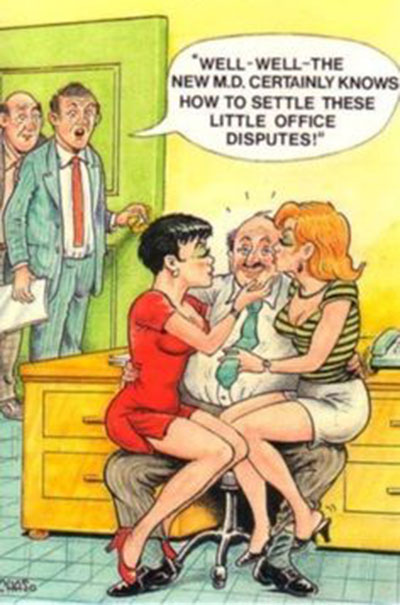 Benny Hill type humour 3