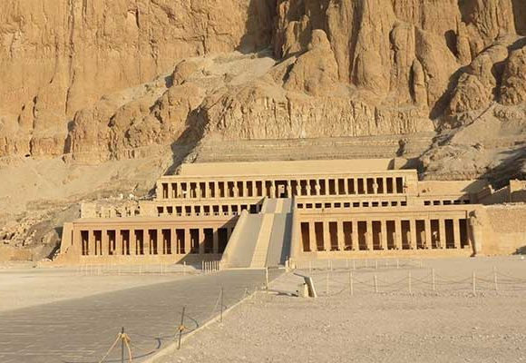 The Mortuary Temple of The Pharaoh Queen Hatshepsut