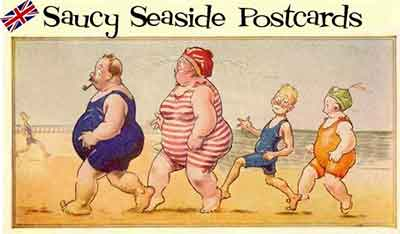 Saucy Seaside Postcards