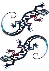 spinning lizard