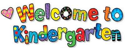 welcome to kindergarten 1