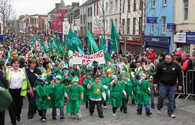 The History of St. Patrick's Day Parades