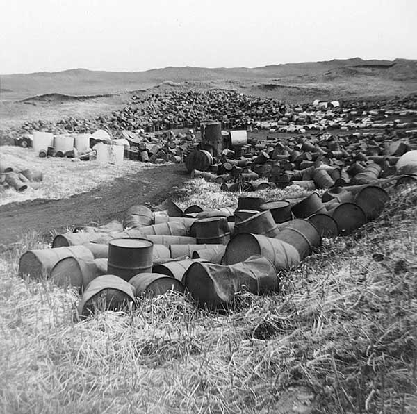 Love Canal barrels of waste