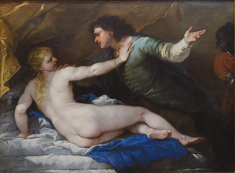 Lucca Giordano   The Rape of Lucretia