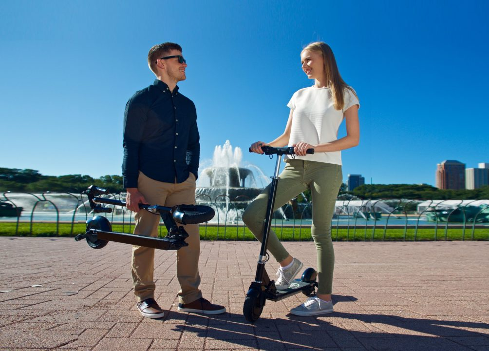 protable electric scooter for commuting